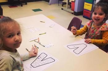 children drawing